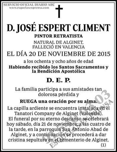 José Espert Climent
